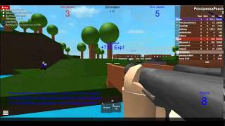 Peach Toadstool Plays: ROBLOX - Elimination Round 0001