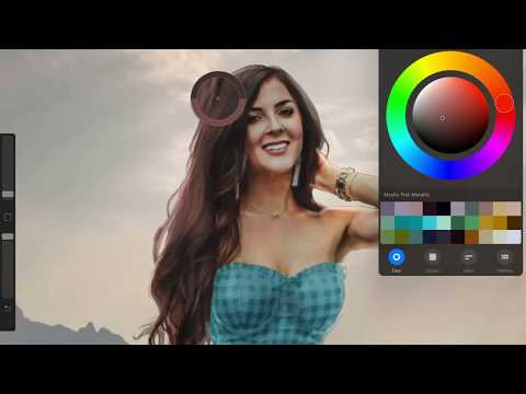 Procreate Photo-manipulation - narrated tutorial version 4.14