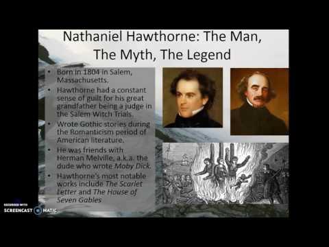 Intro Dark Romantics, Hawthorne, Birthmark