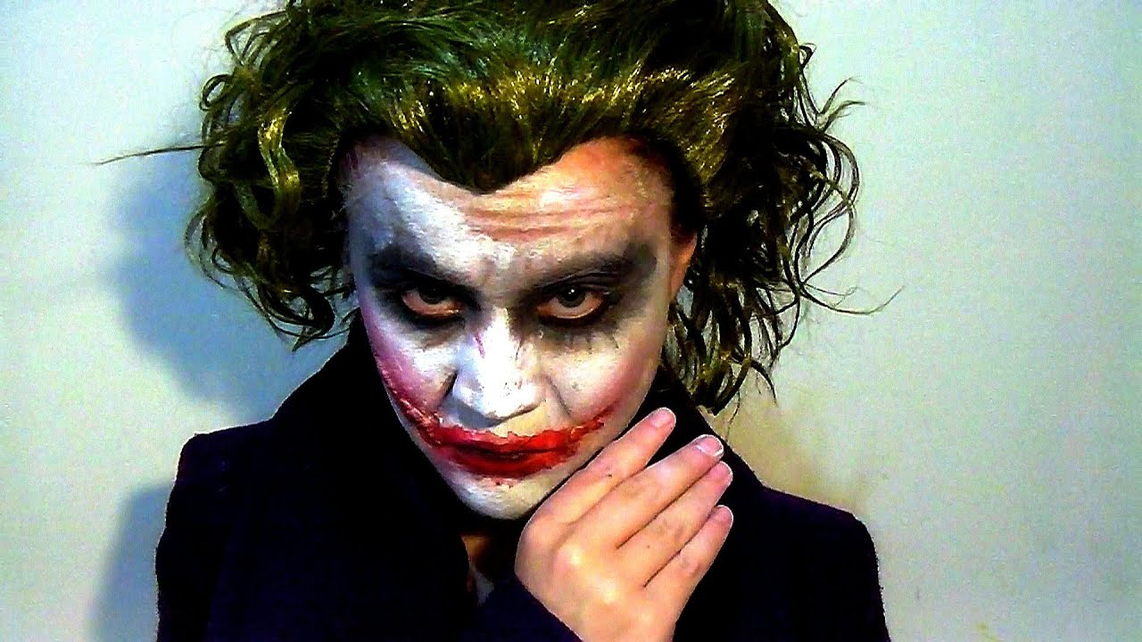HEATH LEDGERu0026#39;S THE JOKER MAKE UP TUTORIAL - YouTube