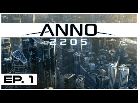 Anno 2205 - Ep. 1 - The Birth of Blitzcorp! - Let's Play -  Anno 2205 Gameplay