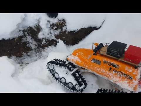 Tucker snow cat Axial Crawler