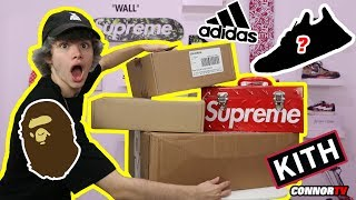 $2,500 Back To School Hypebeast HAUL Supreme, BAPE, Pharrell NMD, PICKUPS