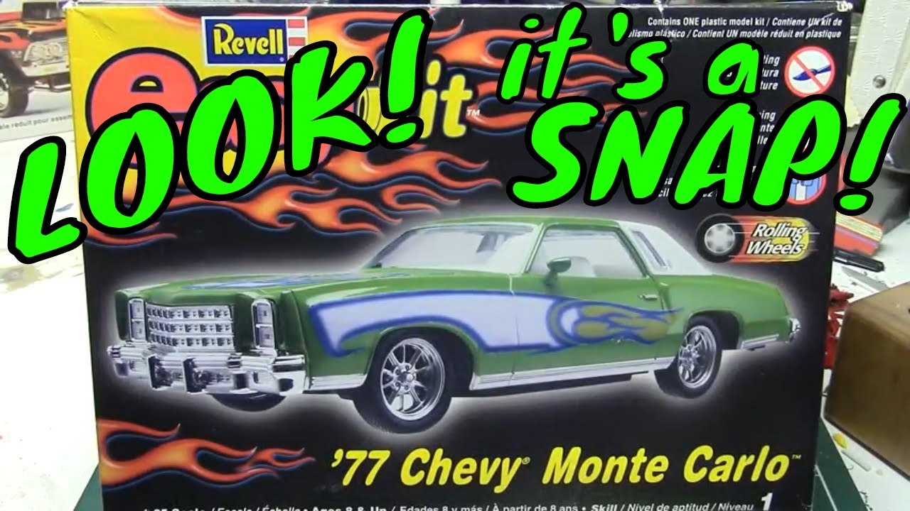 Luka's Kits #6 The Revell 77 Chevy Monte Carlo Snap Kit