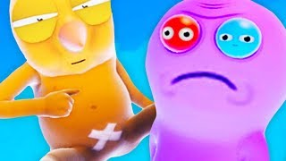DOING EVIL THINGS in Trover Saves The Universe (Rick n Morty Game)