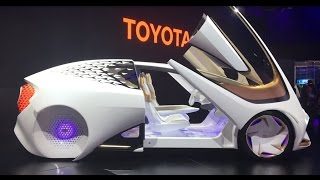 3D Printed Car, Augmented Reality, Wireless VR, Robots, 8k TV - CES 2017 Highlights!!