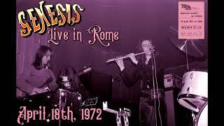Genesis - Live in Rome - April 18th, 1972