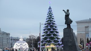 Воронеж встречает 2018 год