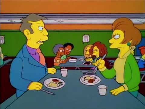 The Simpsons - There's Very Little Meat In...
