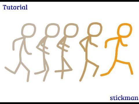 Basic Animation Tutorial Stickman Run Youtube