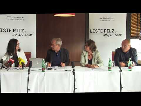 LISTE PILZ: Präsentation der Landesliste Salzburg