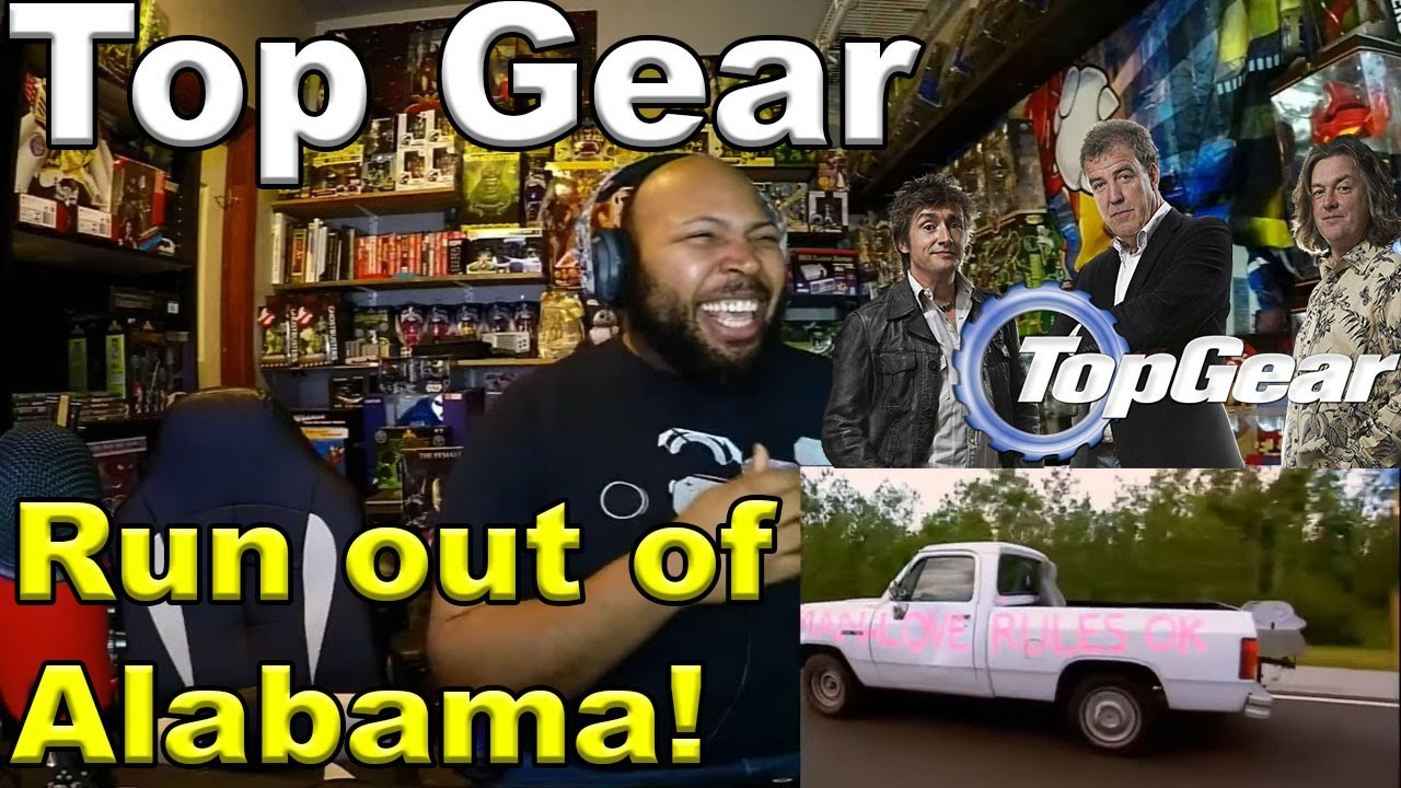 Download Run out of Alabama!   Offensive cars   Top Gear   Series 9   BBC Reaction