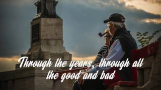 THROUGH THE YEARS by Kenny Rogers (with lyrics)