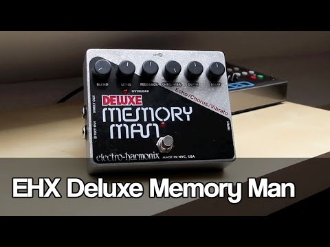 Electro-Harmonix Deluxe Memory Man   analog delay, chorus and vibrato