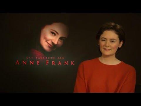 """Lea von Acken spielt Anne Frank: """"Ich hatte Angst vor den KZ-Szenen"""""""