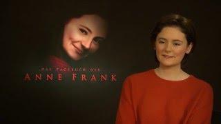 Lea von Acken spielt Anne Frank: