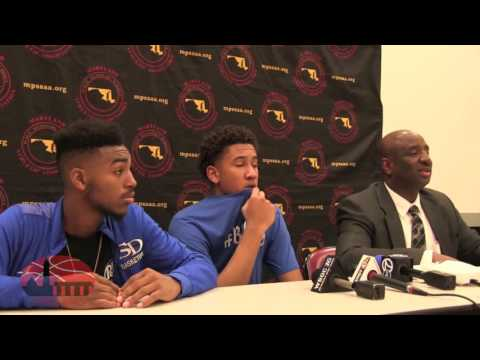 Stephen Decatur Press Conference after defeating Seneca Valley in the 2016 MD 3A state semi