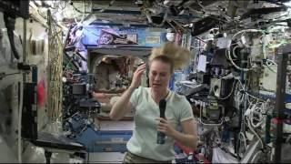 Space Station Crew Member Discusses Life and Work Aboard the Outpost