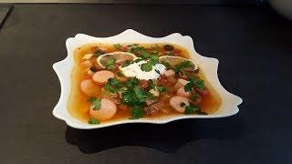 Суп Солянка мясная.