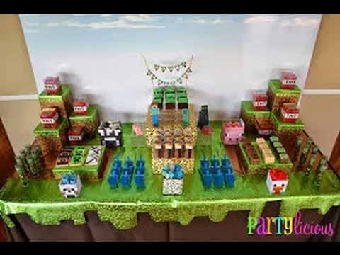 How To Make A Simple Minecraft Birthday Cake