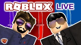 🔴 Roblox Live | Jailbreak and Murder Mystery 2 | Ben and Dad