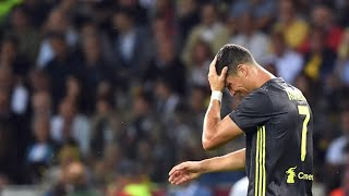 Cristiano Ronaldo shoot the ball in Khedira's Face ( Juventus Teammate)