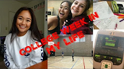 COLLEGE WEEK IN MY LIFE:  Midterm,Gym + More | Sonoma State | Llieda Seno