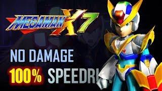 MegaMan X7 100% No Damage Completion Run (Hard mode)