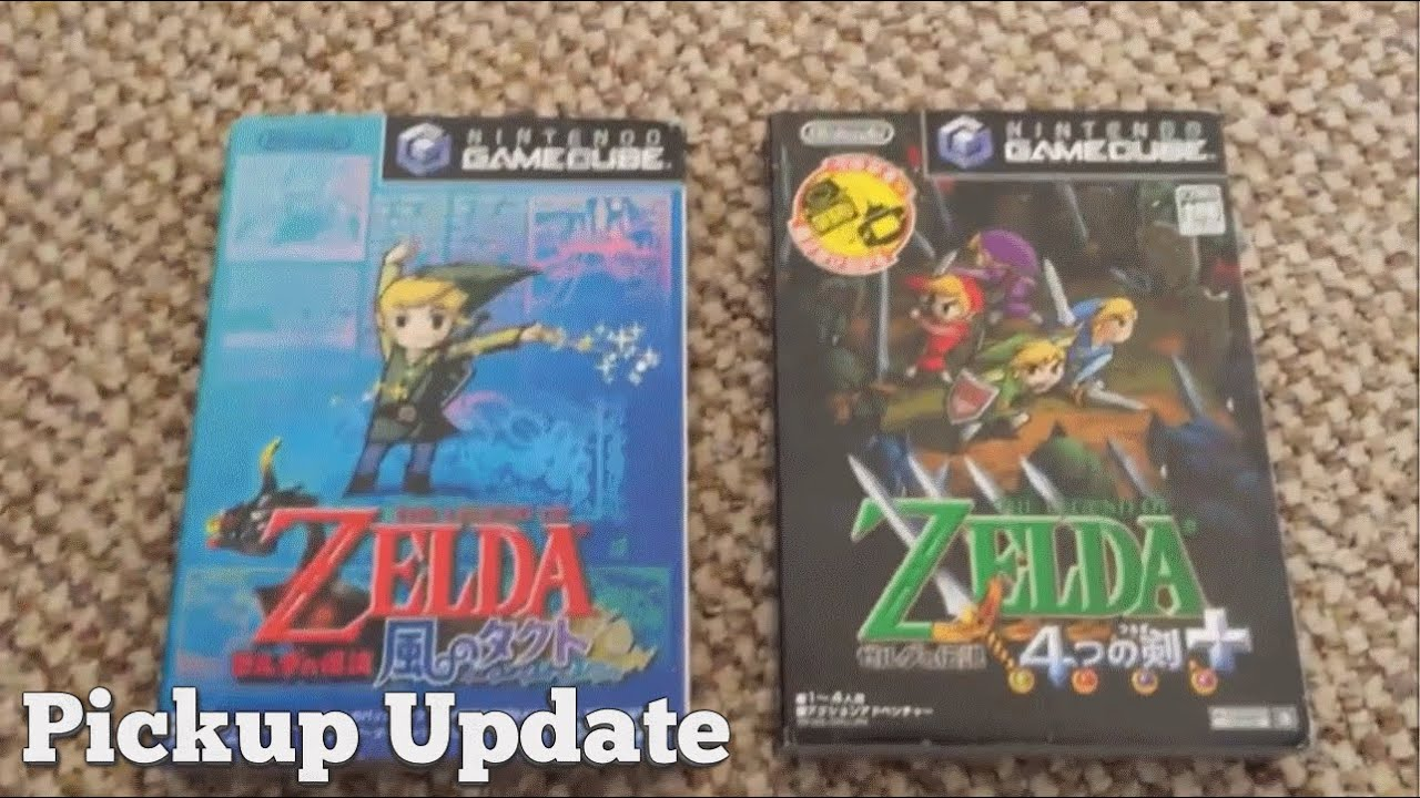 pickup update japanese zelda