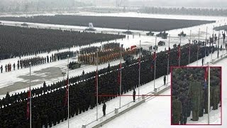 How North Korea created an 8ft giant soldier?