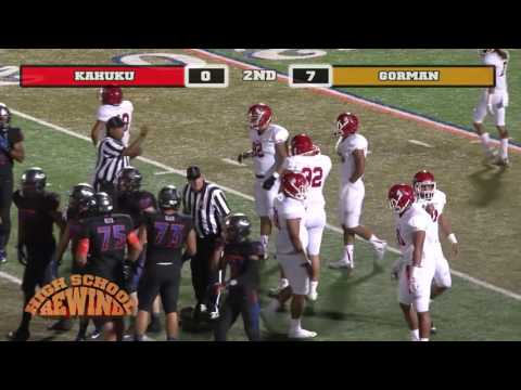 High School Rewind - Kahuku @ Bishop Gorman (Football) {9-17-16}