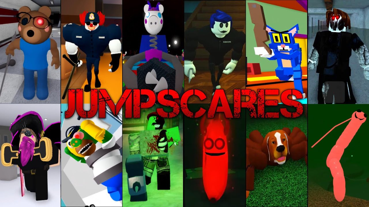 Piggy vs Bakon vs Guesty vs Kitty vs Spider vs Ronald vs Wormy & More Jumpscares + Kill Sounds 3