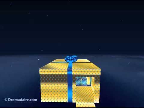 Carte Danniversaire Dromadaire Cadeaump4 Youtube