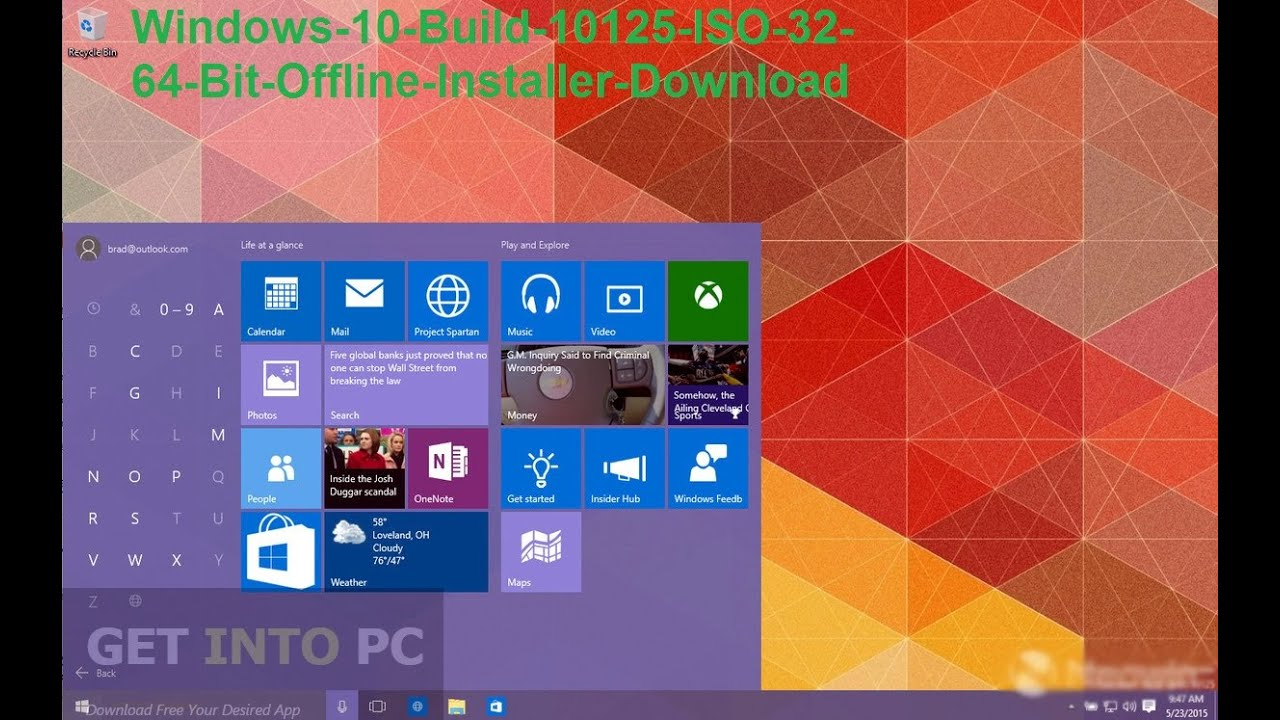 download windows 10 64 bit offline installer