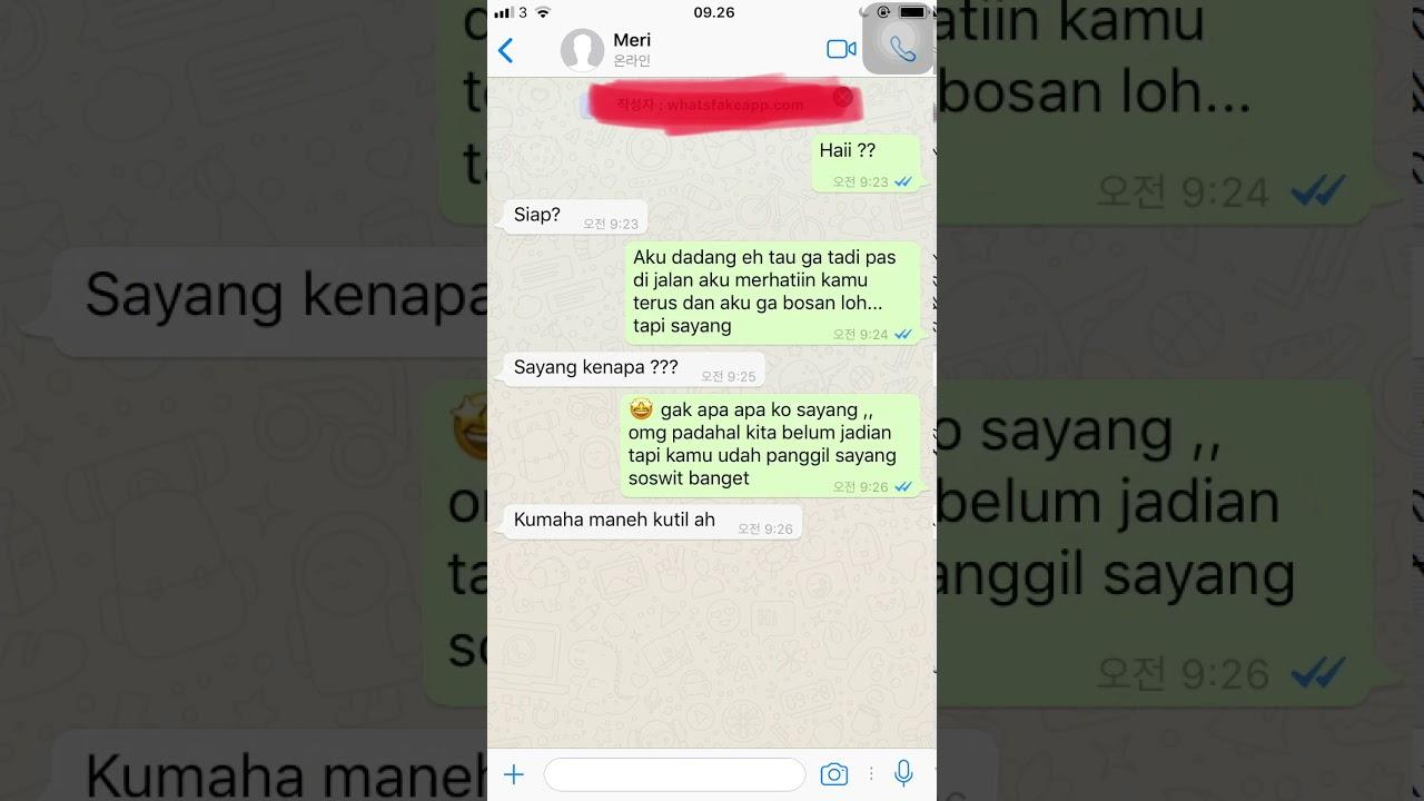 Kumpulan Sms Dan Chatting Lucu Ngakak