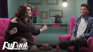 RuPaul's Drag Race (Season 8 Ep. 4 Recap)   The Pit Stop with Kingsley & Delta Work   Logo