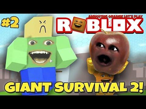 Midget Apple Plays - Roblox: Giant Survival 2 #2