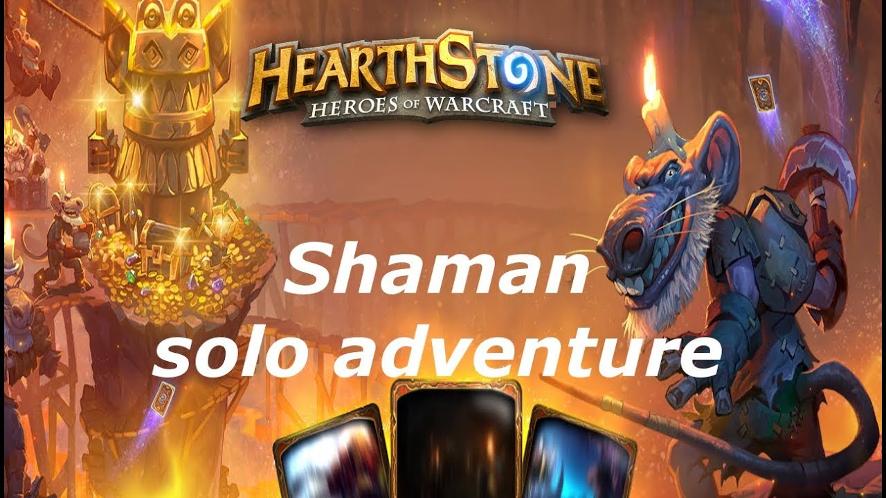Hearthstone Shaman - solo dungeon