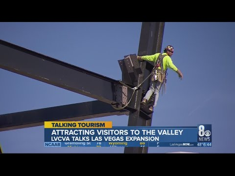 LVCVA President Steve Hill talks Las Vegas Convention Center expansion, Raiders Stadium progress