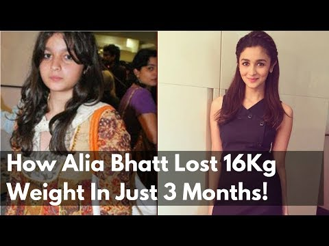 How Alia Bhatt Lost 16Kg Weight In Just 3...