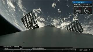 SpaceX Launch: OTV5 / X-37B : SpaceX Landing of first stage Falcon 9