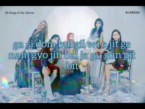 Gfriend(여자친구) - Apple (Easy Lyrics) - YouTube