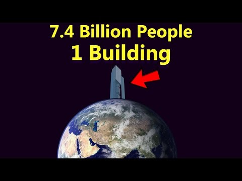 What If Everybody Lived In Just One Building?