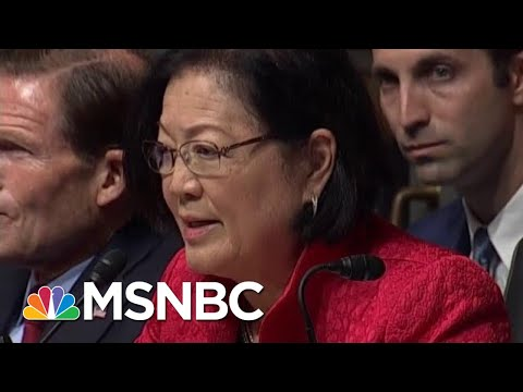 Senator Mazie Hirono Lays Into Attorney General William Barr | MSNBC