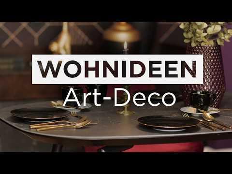 Video: Einrichtungsideen Art Deco Wohntrend | BAUR