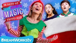 Defeating an EVIL ELF | JUNK DRAWER MAGIC 12 DAYS OF TRICKMAS