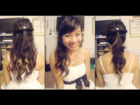 3 Elegant Homecoming Hairstyles Youtube