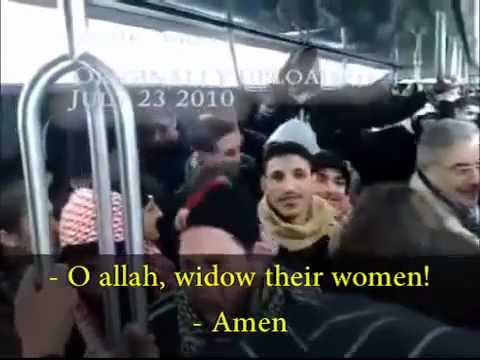 Muslims on a bus in France