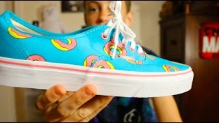Odd Future Vans 2016! Review+On Feet