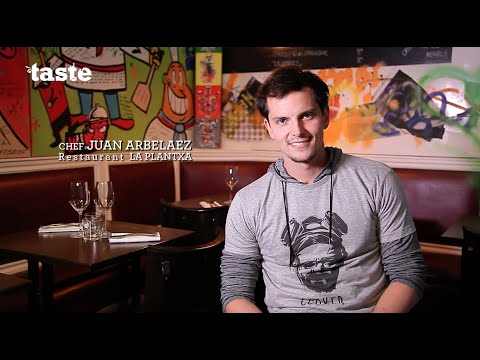 juan-arbelaez,-chef-du-restaurant-la-plantxa,-taste-of-paris-2016